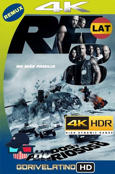 Rápidos y Furiosos 8 (2017) BDRemux 4K HDR Latino-Ingles MKV
