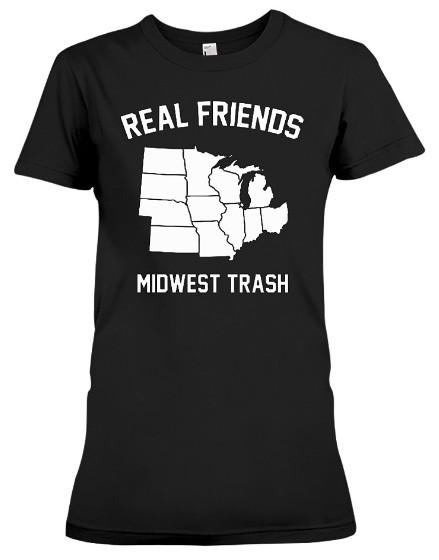 Real Friends Midwest Trash T Shirt Hoodie Sweatshirt Sweater