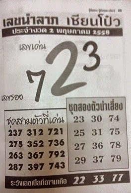 เลขนำลาภอาจารย์ช้าง, อาจารย์อู๋บางบอน, เลขนำลาภเซียนโป๋ว,,หวยซองงวดนี้,หวยเด็ดงวดนี้ ,เลขเด็ดงวดนี้,ข่าวหวยงวดนี้,เลขนำลาภอาจารย์ช้าง 2/05/58  พฤษภาคม