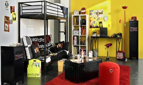 Dormitorios juveniles muy modernos dormitorios colores y Deco anglaise chambre ado