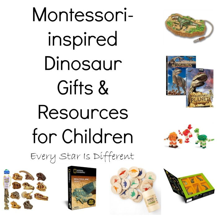 Dinosaur Gift and Resources for Children