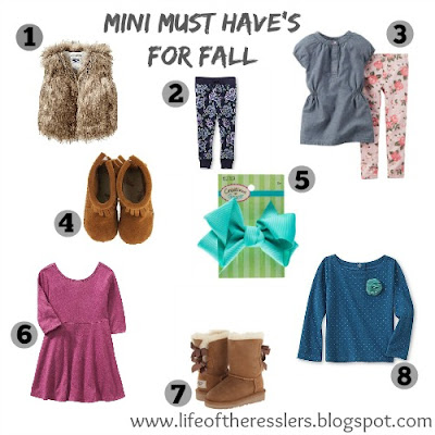Mini Must Have's for Fall