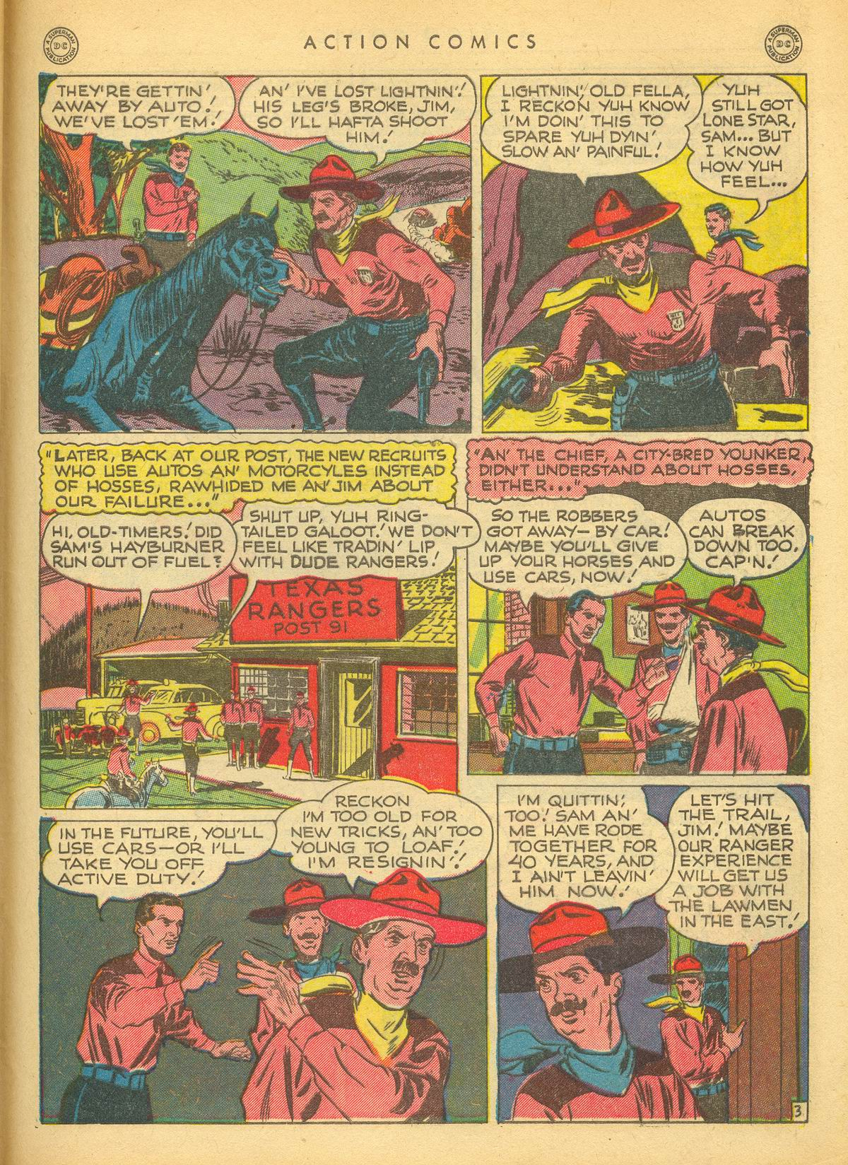 Read online Action Comics (1938) comic -  Issue #109 - 41