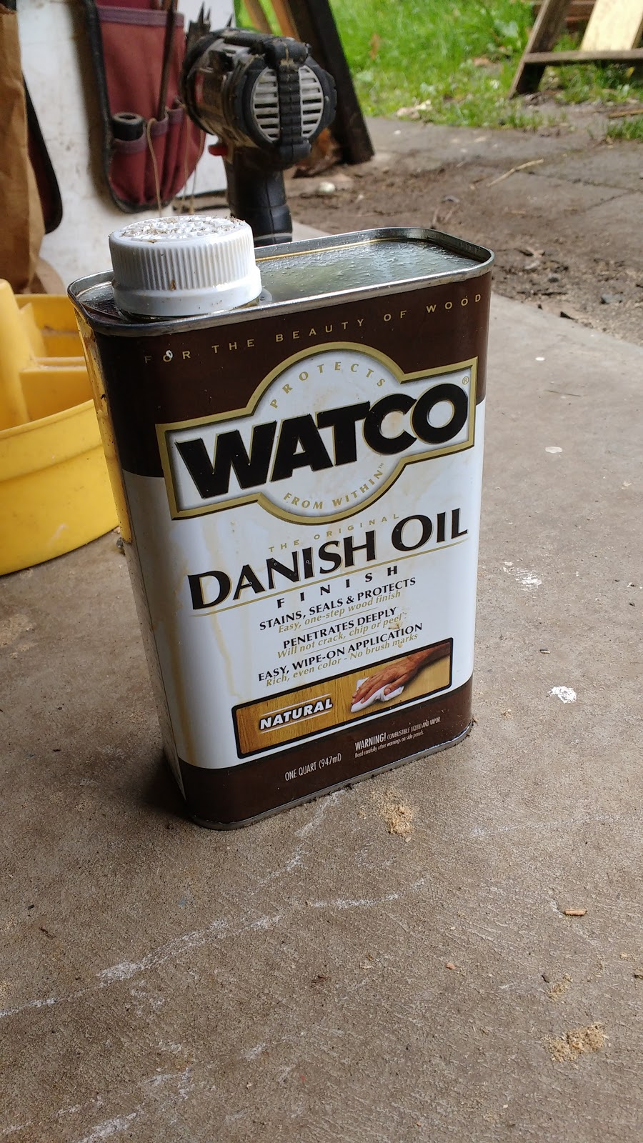 Danish Oil Application