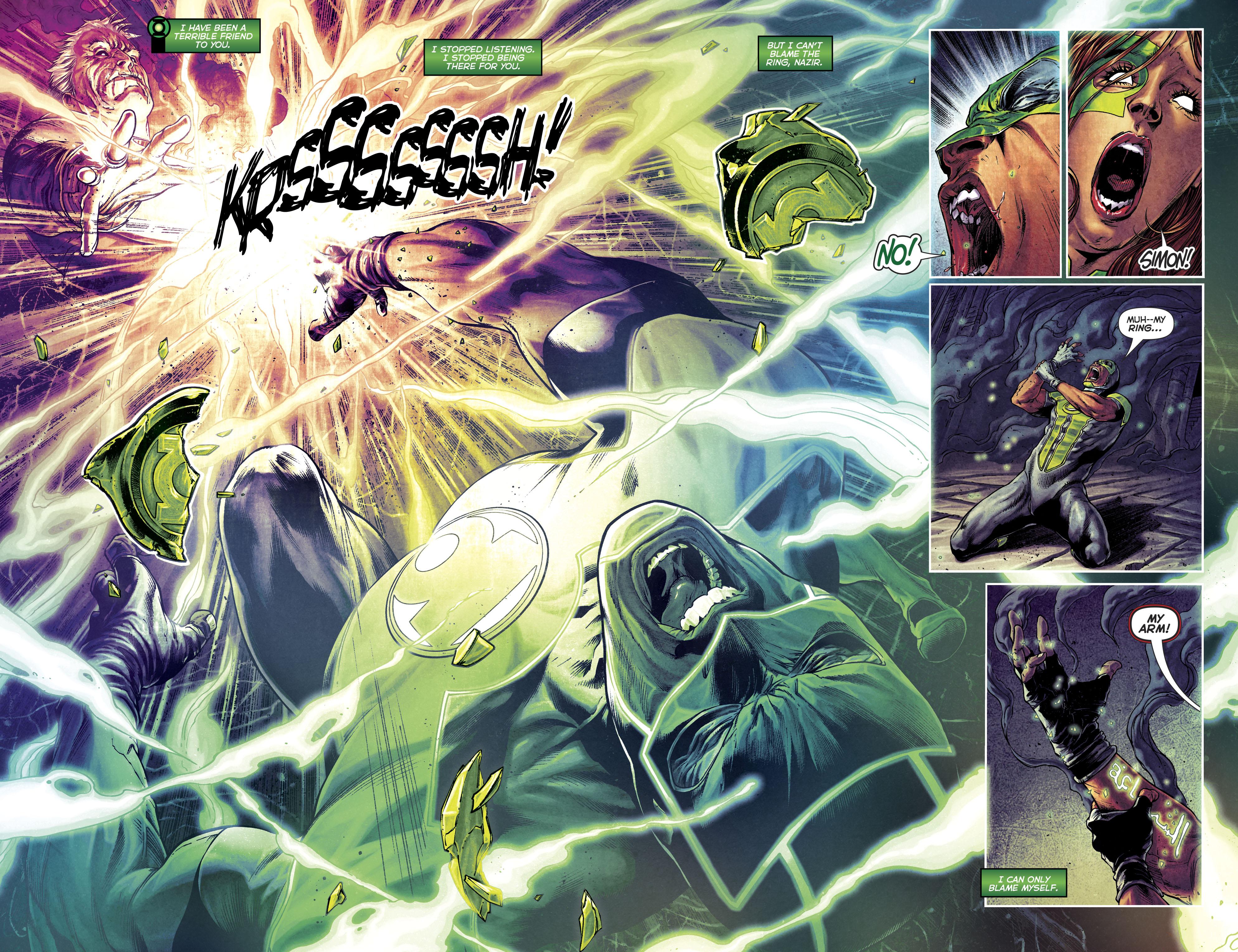 Read online Green Lanterns comic -  Issue #25 - 25
