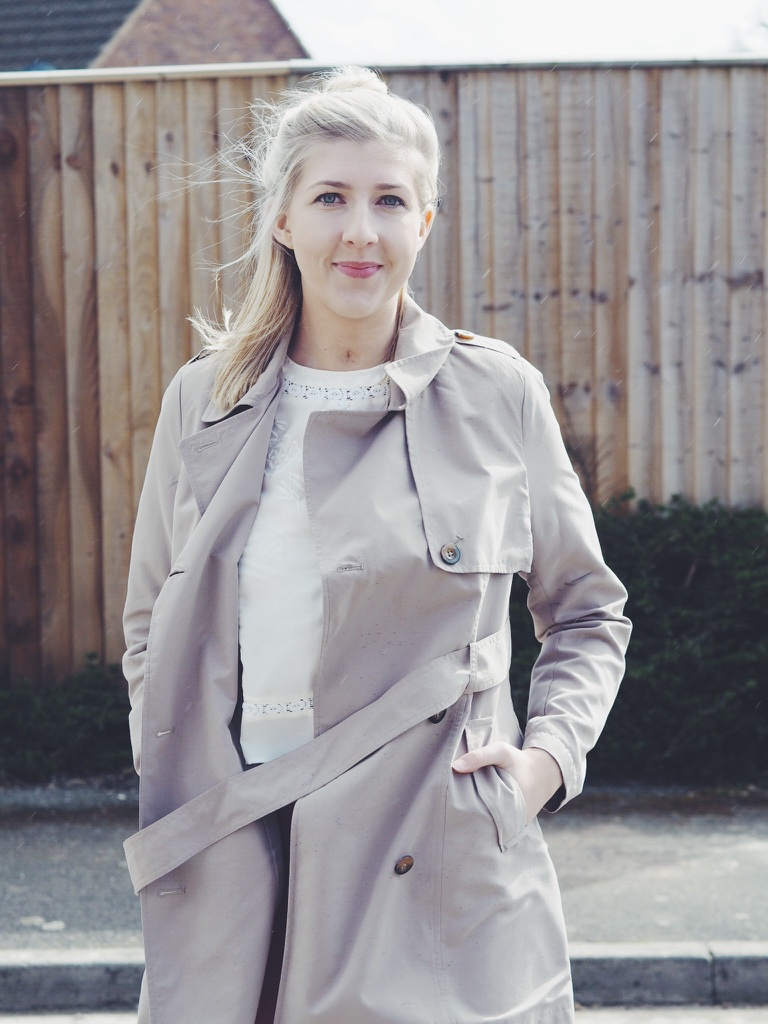 asostrousers, asos, embroideredtop, asseenonme, trenchcoat, taperedtrousers, pegtrousers, pointedflats, primarkshoes, primarktrenchcoat, summerfashionpost, ootd, outfitoftheday, lotd, lookoftheday, fbloggers