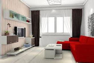 warna cat ruang tamu 2 warna untuk rumah kecil