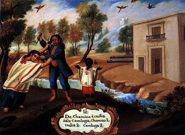 Castas De La Nueva España: Cuadros De Castas