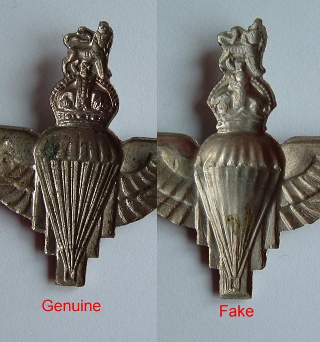 Arnhem Jim: WWII Parachute Regiment Cap Badge - A Semi