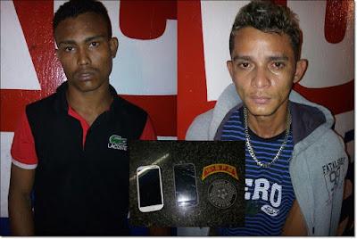 Em Chapadinha, dupla pratica assalto é perseguida e acaba nas garras da Polícia