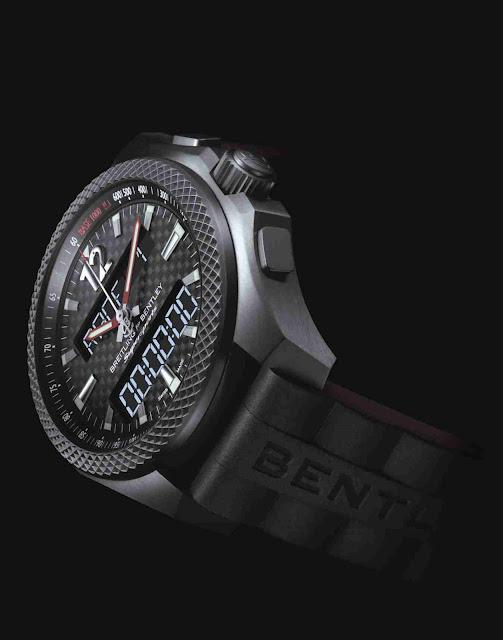 Réplique Montre Breitling Bentley Supersports B55 Connecté en Titane AAA