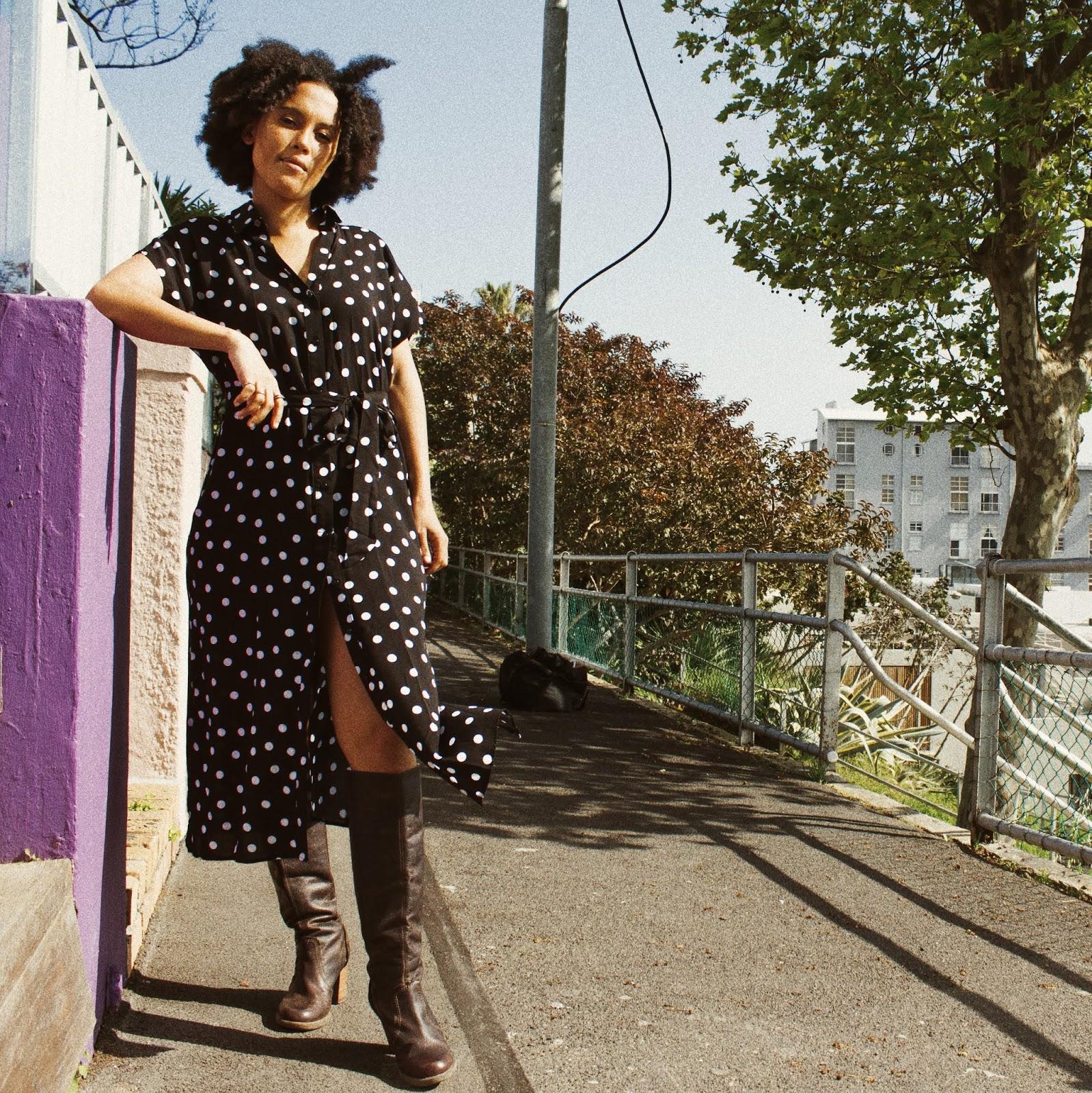 Liezel-Esquire-polka-dot-dress