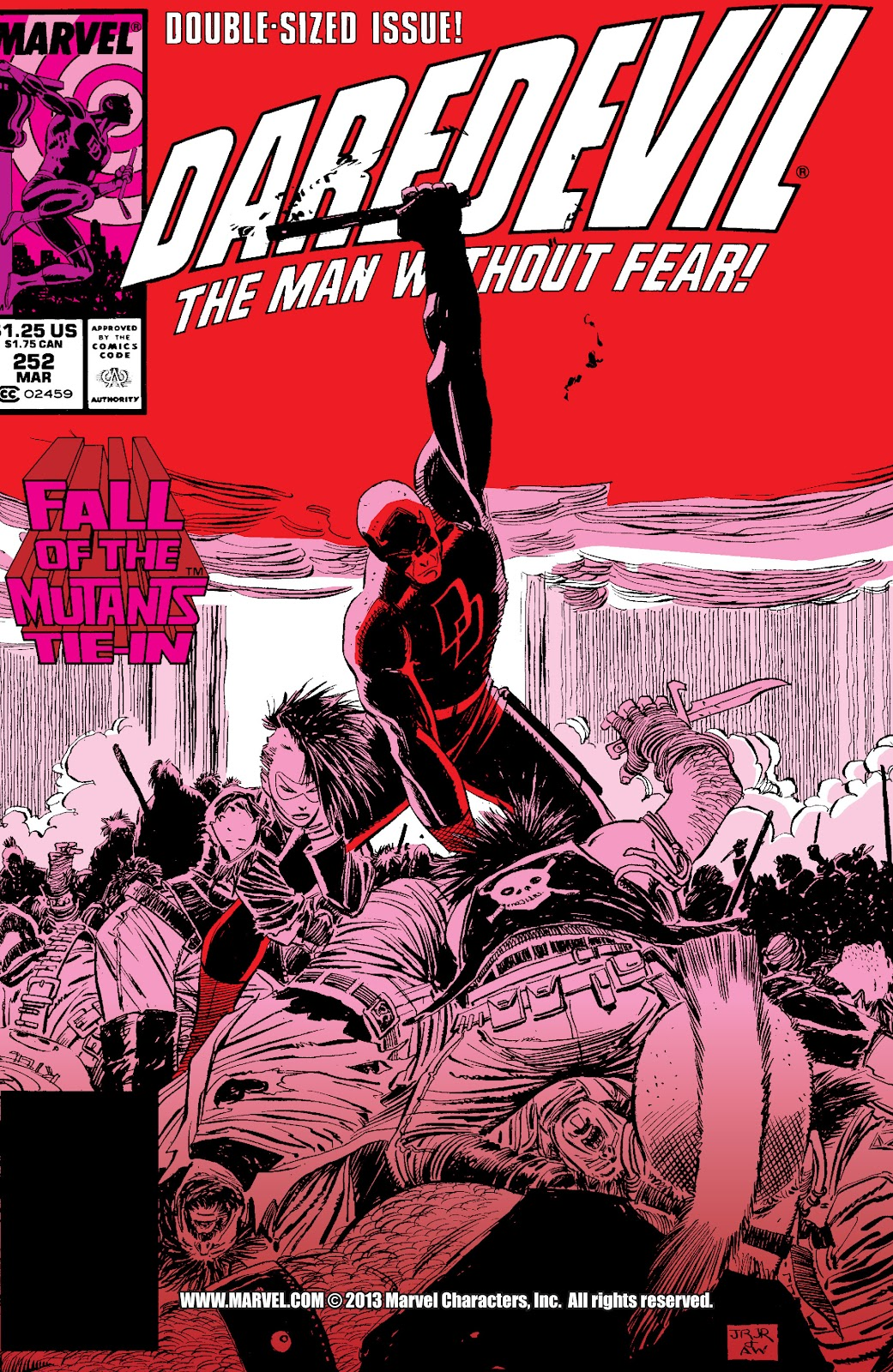Daredevil (1963-1998) issue 252 - Page 1