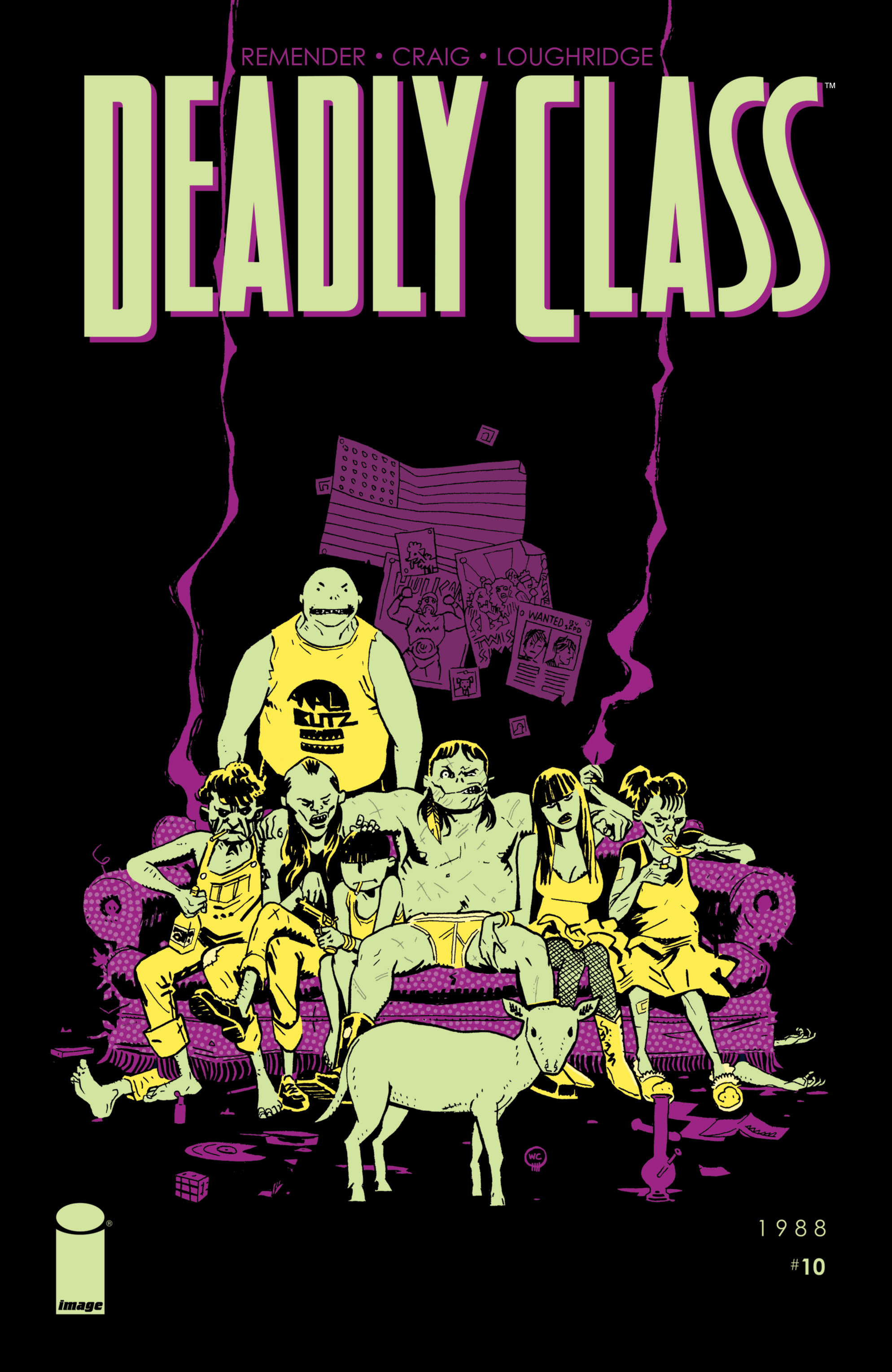 Deadly Class 10 Page 1