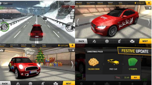 تحميل لعبة سباق سيارت 2018 ,  لعبة racing fever للاندرويد والايفون والكمبيوتر اخر اصدار 2018 مجانا
