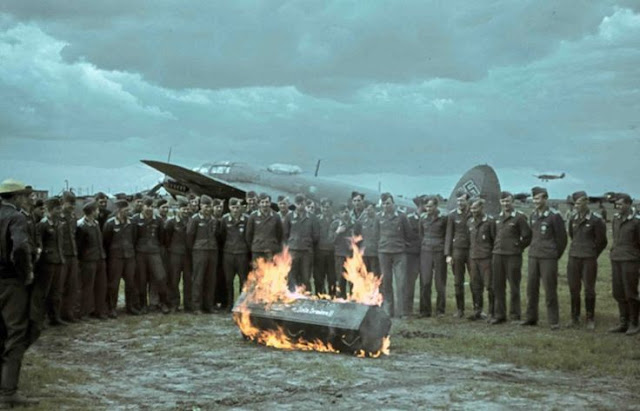 Tatinskaya airfield, near Stalingrad, 1942, Planes in color worldwartwo.filminspector.com