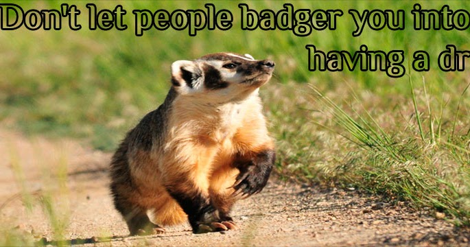 All honey badgers love anal sex