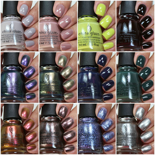 China Glaze The Great Outdoors Collection, Swatches and Review