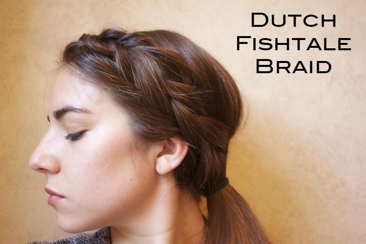 Dutch Fishtail Braided Headband Tutorial