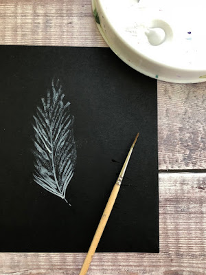 Adding a second layer to your feather