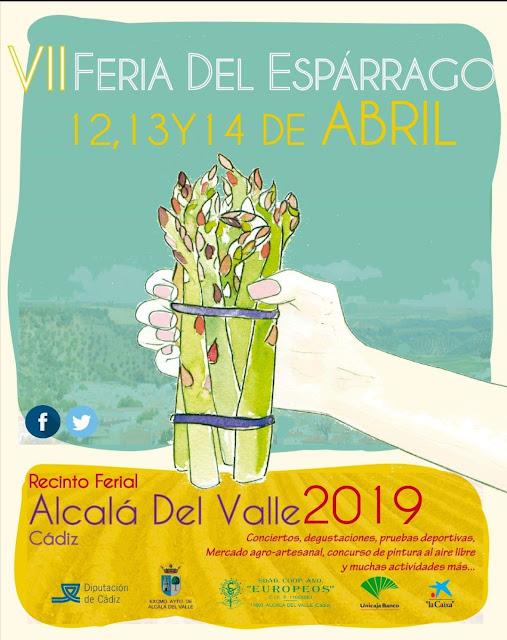 Cartel VII Feria del Espárrago en Alcalá del Valle