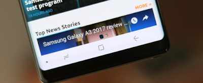 Cara Mengubah Navigation Bar Galaxy Note 9