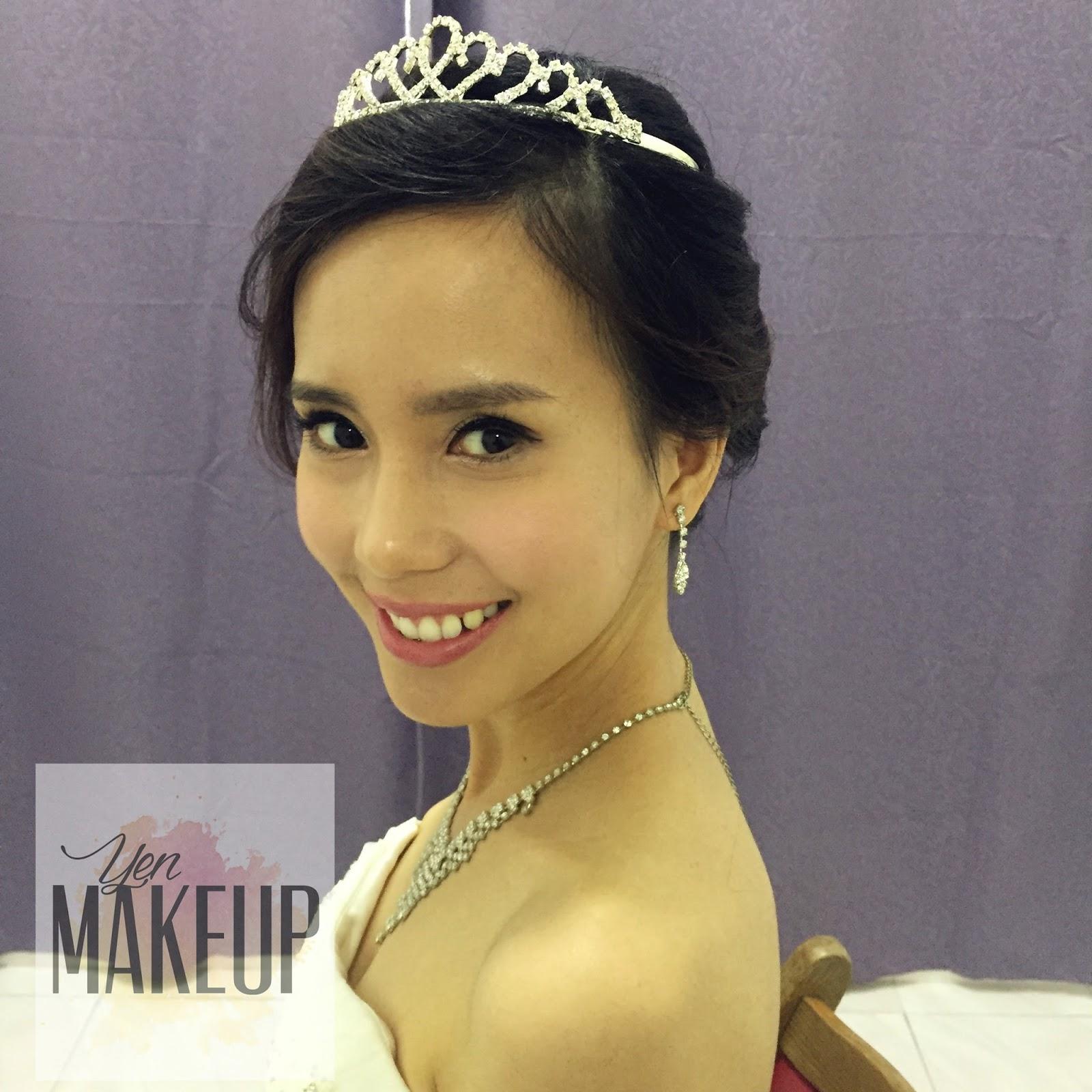 YenMakeup: Bridal Day Makeup ~ 07-01-2017