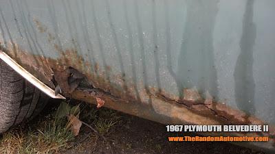1967 Plymouth Belvedere II abandoned skagway alaska rotting in styel