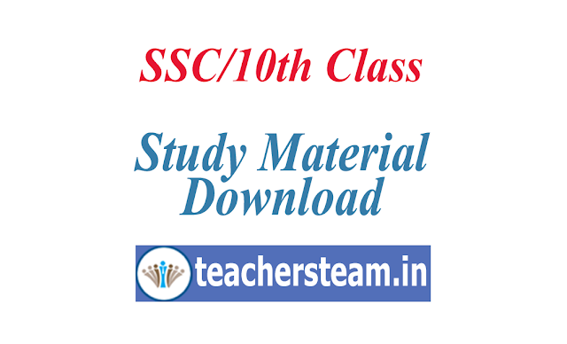 Study Material useful for SSC Students