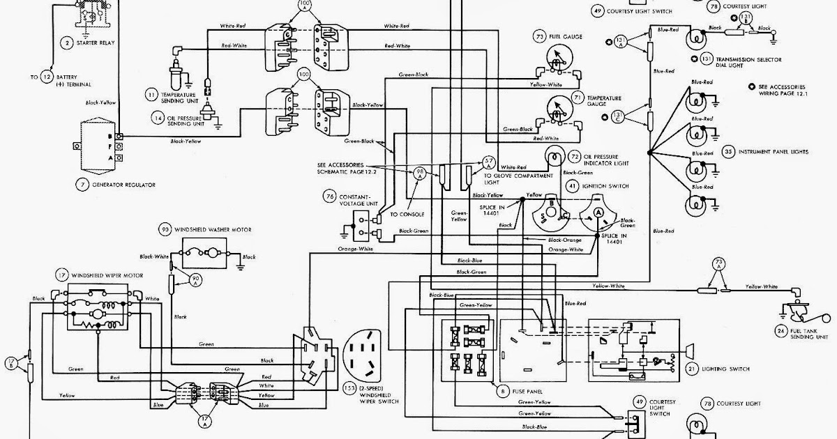chevy 1500 voltage regulator diagram