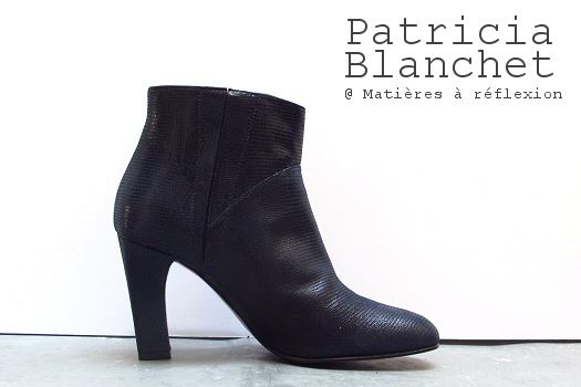 SOLDES Patricia Blanchet boots Tarasse