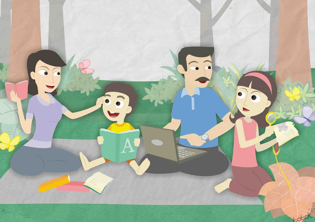 Jadikanlah Keluarga Sebagai Sekolah Pertama Untuk Anak-Anakmu !