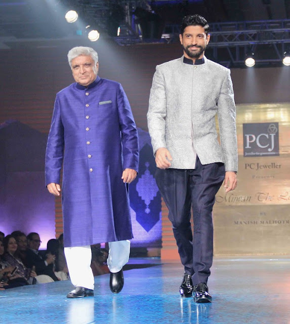 Bollywood Celebs Walk the Ramp with Their Star Parents