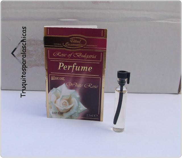 Perfume white rose