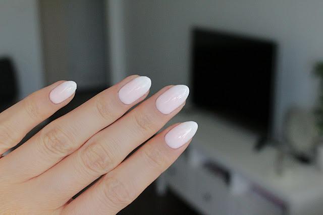 Baby boomer Indigo Sugar Effect hola paola blog instrukcja krok po kroku koko loko french manicure
