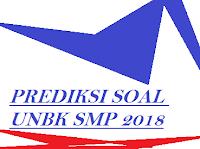 GAMBAR prediksi soal unbk smp 2018
