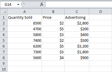 how to use regression analysis in excel