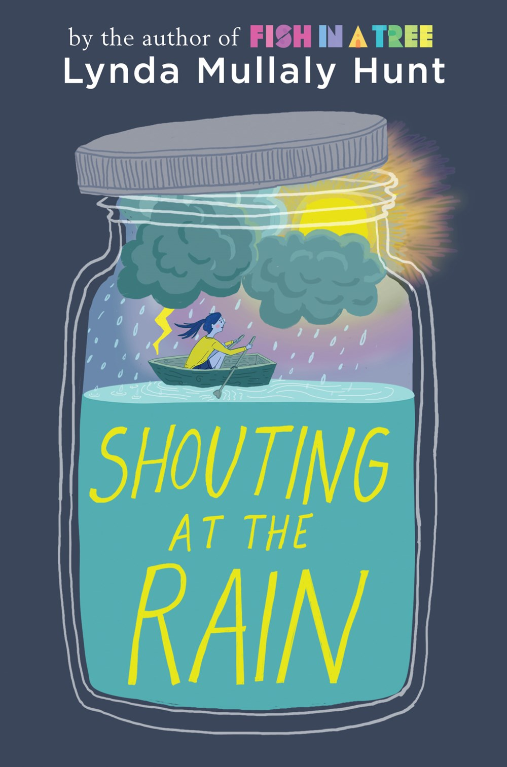 Book Trailer Premiere: Shouting at the Rain by Lynda Mullaly Hunt