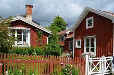 urlaub in schweden nora die schwedische stadt der holzh user. Black Bedroom Furniture Sets. Home Design Ideas