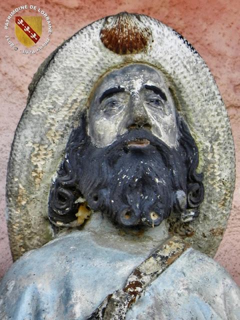 PULLIGNY (54) - Statue de Saint-Jacques (XVIe siècle)