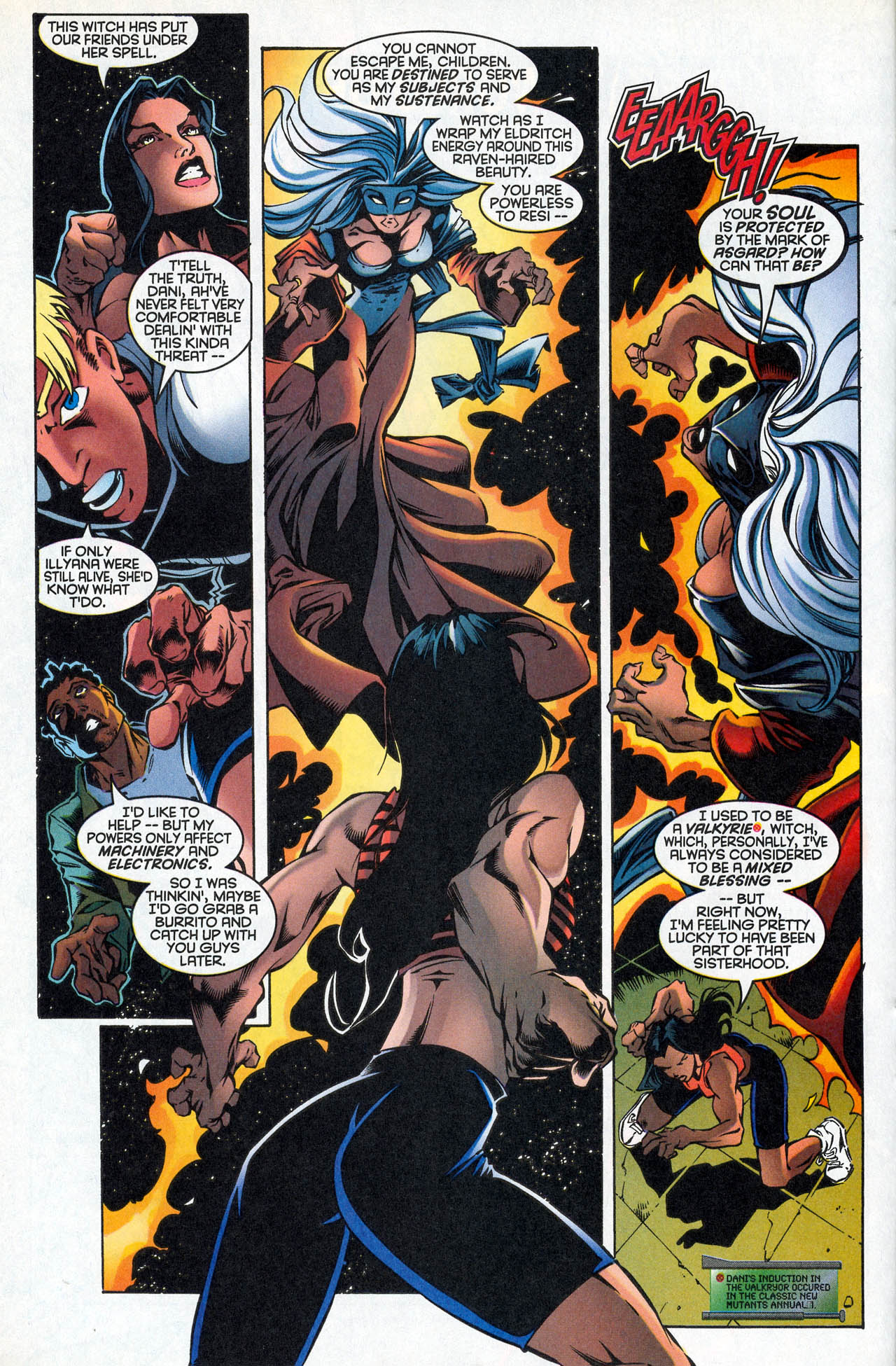 Read online X-Force (1991) comic -  Issue #85 - 21