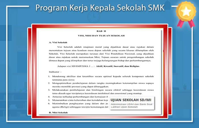 Program Kerja Kepala Sekolah SMK