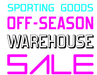 Sporting Goods Off-Season Warehouse Sale 2016