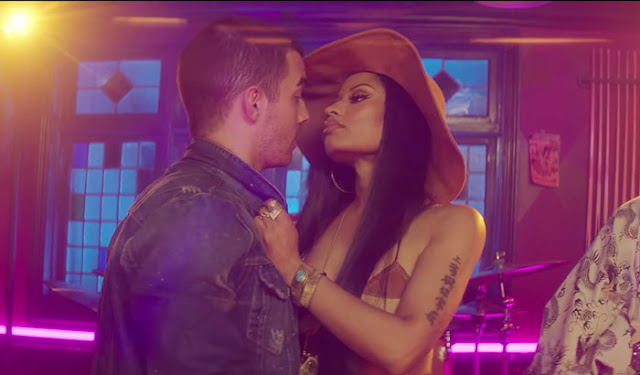 "DNCE Premiere ""Kissing Strangers"" Video ft. Nicki Minaj"