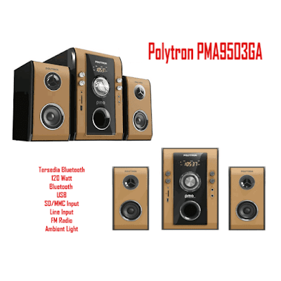 Harga Speaker Aktif Polytron PMA 9503GA