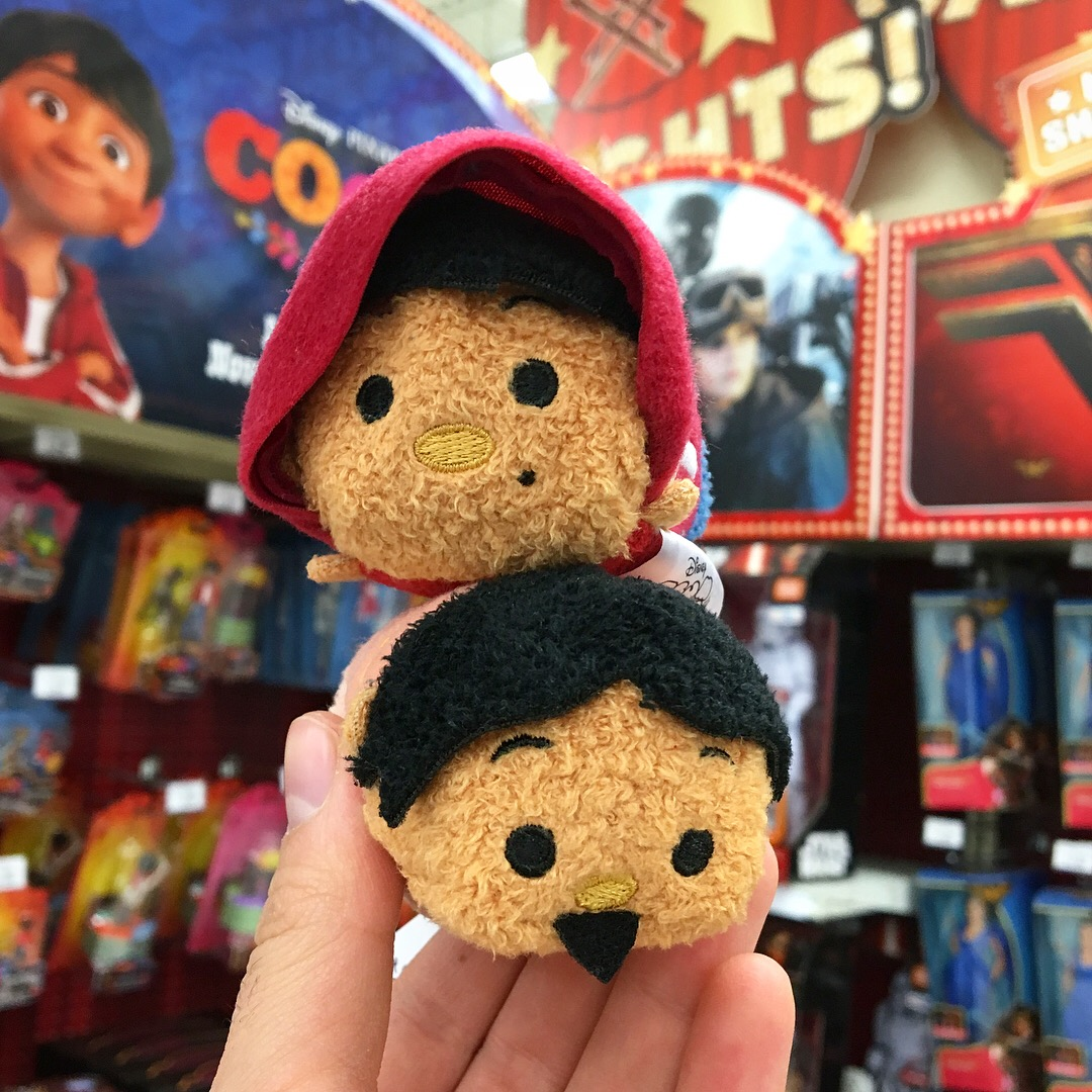 human alive hector and miguel non-skeleton tsum tsums