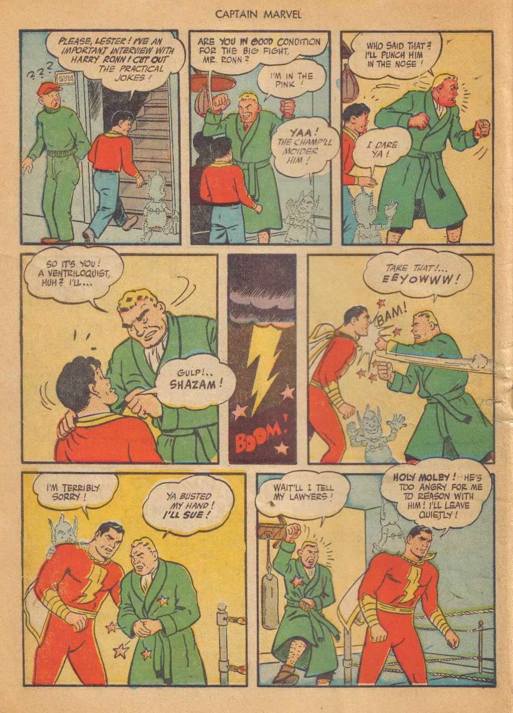 Captain Marvel Adventures issue 64 - Page 10