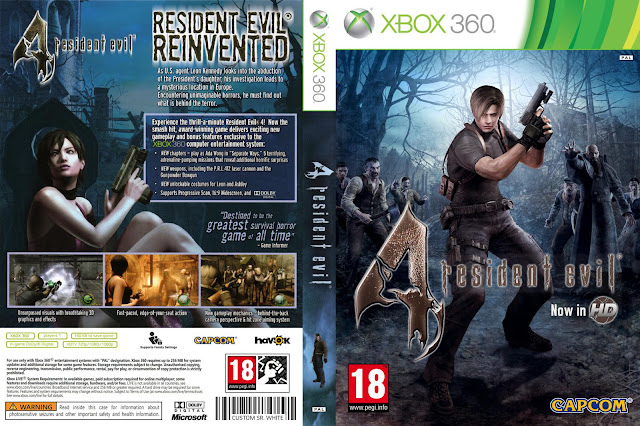 BAIXAR RESIDENT EVIL 4 HD – XBOX 360 TORRENT - Super ... Xbox 360 Game Covers Download