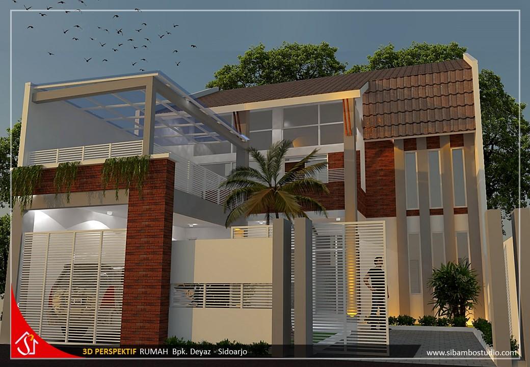 Tak Cakep Desain Rumah Minimalis Tropis 2 Lantai Fungsional