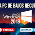 Windows 10 Fall Creators Lite Mini OS 2018 32 y 64 Bits Español